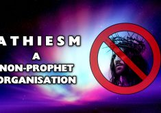 Athiesm A Non Prophet Organisation