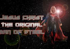 Jesus Christ The Original Man Of Steel Flared