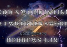 A Two Edge Sword Hebrews 4