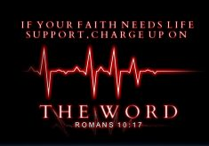 If Your Faith Needs Life Support