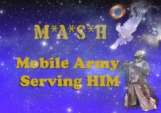 Mobile Army Serving Him